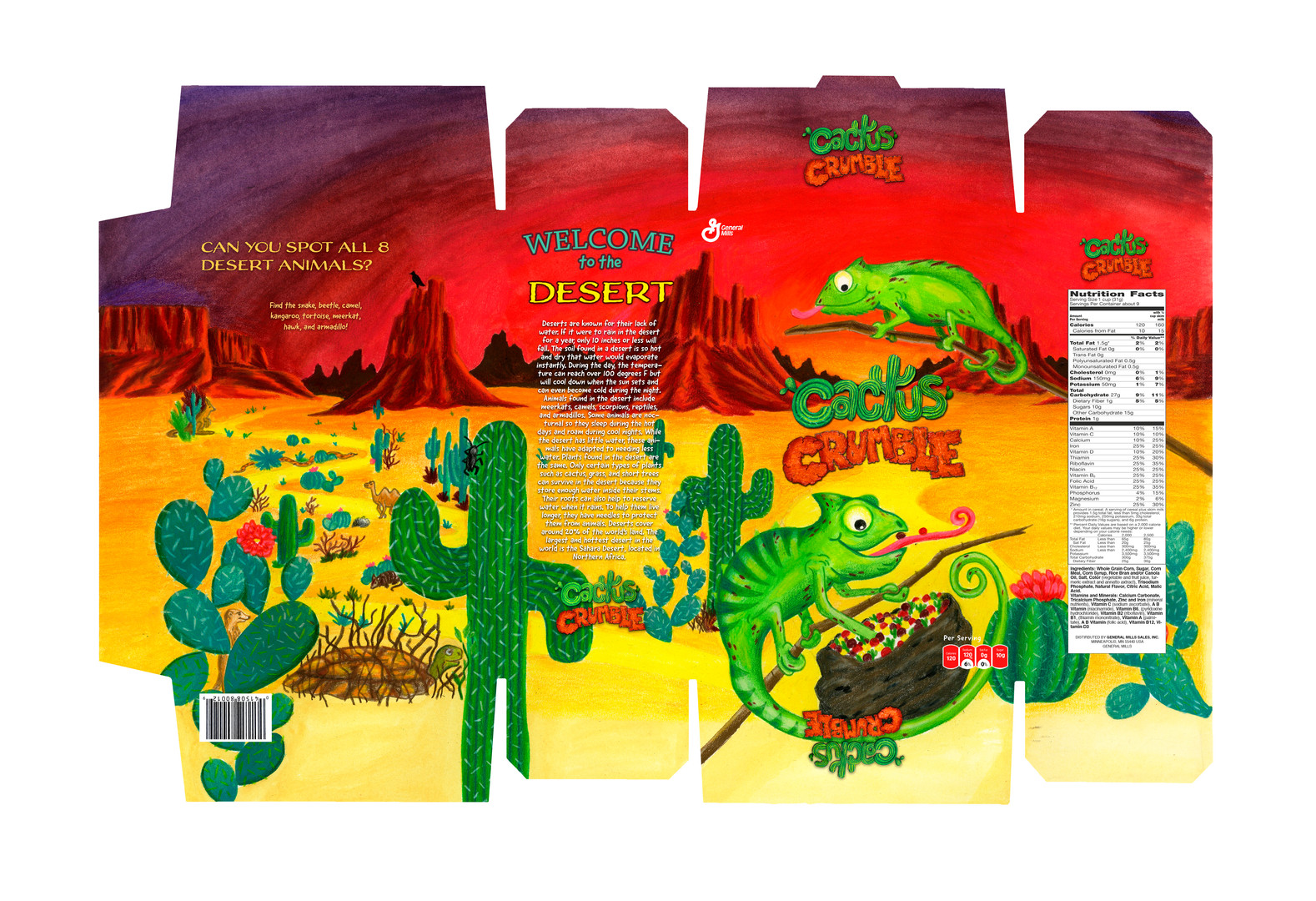 Cactus Crumble