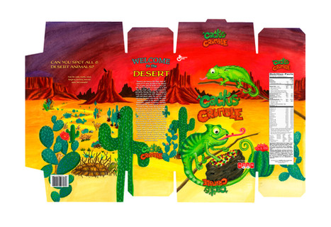 Cactus Crumble Cereal Layout