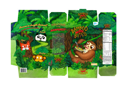 Bamboo Berry Bites Cereal Layout