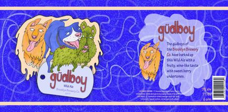 gudboy Beer Packaging Layout Design