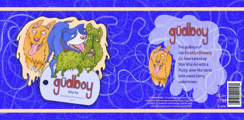 gudboy Beer Packaging Layout Design