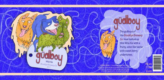 """""""güdboy"""" Beer Label"""