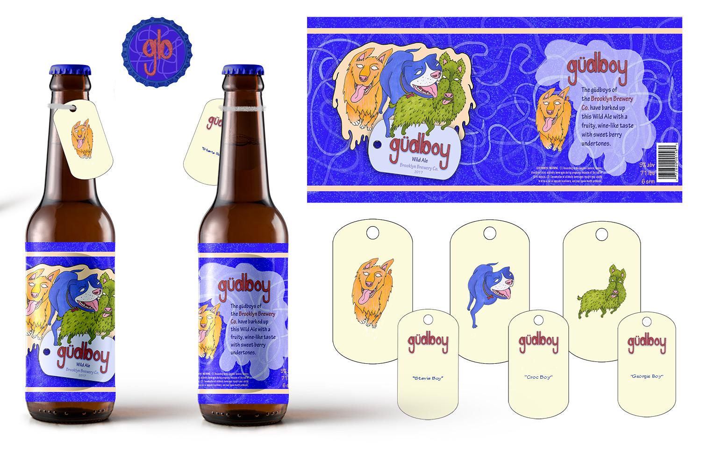 """""""güdboy"""" Beer Packaging"""