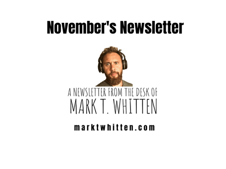 November's Newsletter Got Lost in the Mail, But I Found It!