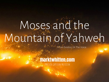 Moses and the Mountain of Yahweh, A Theophany