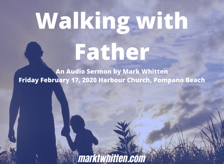 Walking With Father