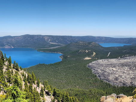 Paulina: The Peak, The Falls, and The Lake