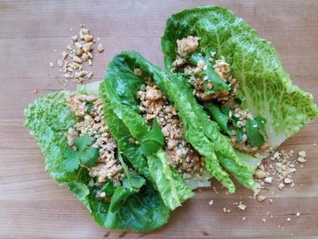 Thai Lettuce Wraps (Larb)
