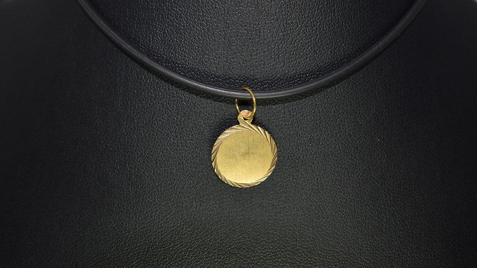 Gold Medal Pendant