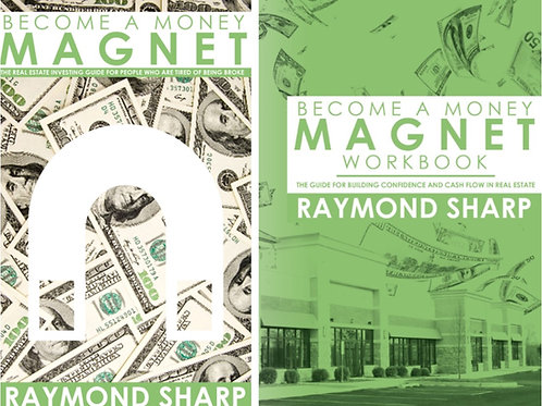 Become A Money Magnet Book (Paperback) and Workbook