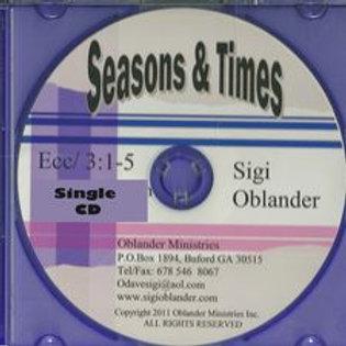 Seasons and Times (set of 2)