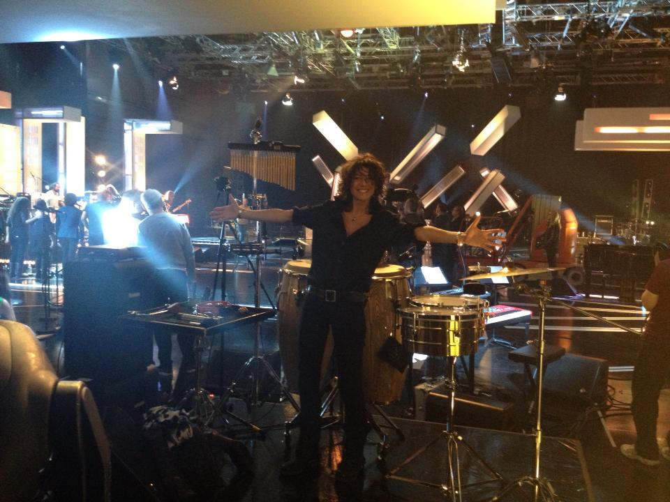 Filming Jools Holland