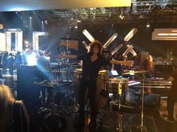 Filming Jools Holland