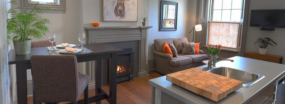 Lancaster House living room