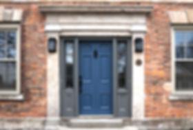Lancaster House front door