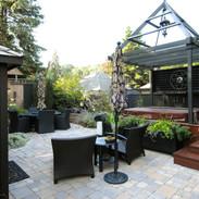 Back yard oasis