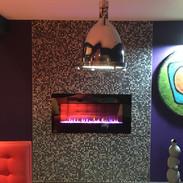 Funky fireplace