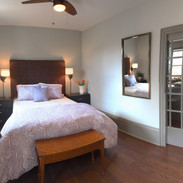 Bedroom and side tables