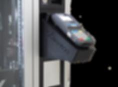 Pinpad, Telemetria, Pagamento por cartão para vending machines N&W Samba, Canto, Tango, Bianchi, Mais Pipoca, Só Pipoca, Poltronas.