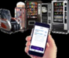 Pagamento via Celular em Vending Machines. Aceite cartão de crédito e private label em poltronas de Massagem Express, Mais Pipoca, Só Pipoca, Svago, Pilão, N&W, Bianchi e muitas outras.
