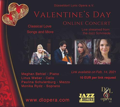 Valentine's Day Concert  (Online)