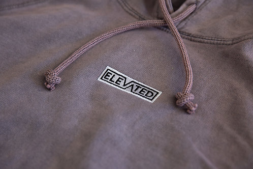 Elevated Desert Rose Wash Embroidered Hoodie