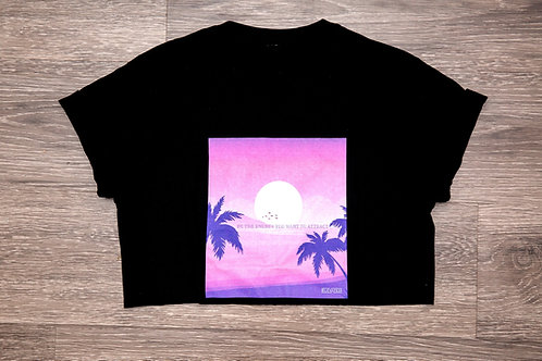 Be the Energy Sunset Cropped Tee