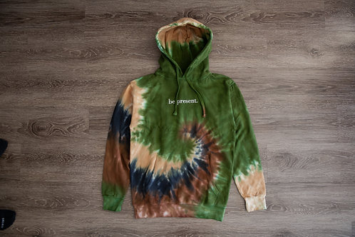 Elevated Camo 'be present' Hoodie