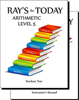 Ray's for Today Arithmetic Level 5 Curriculum Set