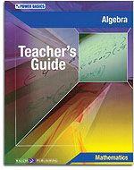 Power Basics - Algebra - Teacher's Guide