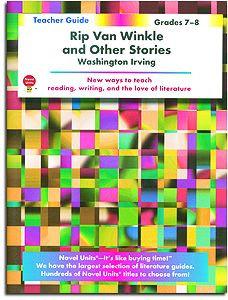 Rip Van Winkle Novel Units Teacher Guide