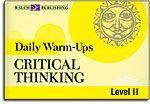 Critical Thinking - Level II - Daily Warm-Ups