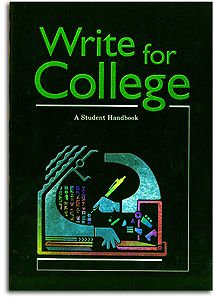 Writer's INC - Write for College