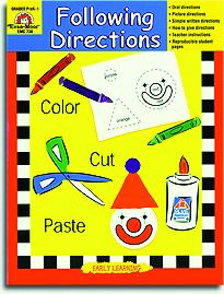 Following Directions - Reading Readiness