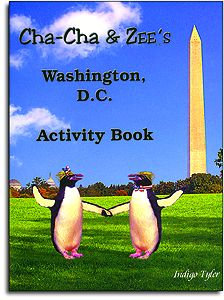Cha Cha & ZEE's Washington DC Activity Book