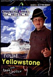 Explore Yellowstone DVD - Episode 2 Awesome Science Series
