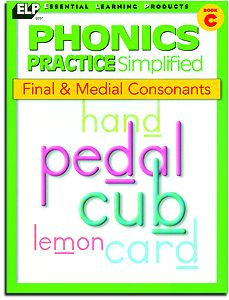 Final & Medial Consonants - Book C