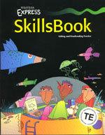 Writer's Express - SkillsBook - Teacher's Edition - Level 4 (copyright 00)