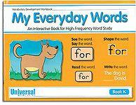 My Everyday Words - Book K (Kindergarten)