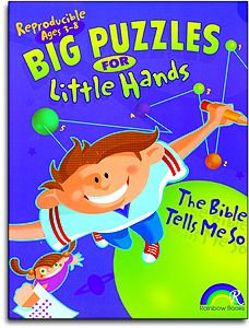 Big Puzzles for Little Hands - The Bible Tells Me So