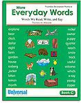 My Everyday Words - Book C (Gr. 3)