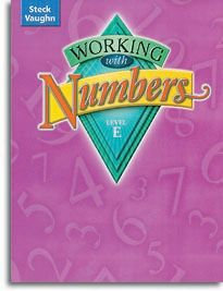 Working with Numbers - Level E - Student Workbook