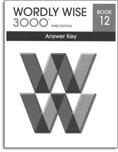 Wordly Wise 3000 - Book 12 - Answer Key