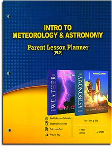 Intro to Meteorology & Astronomy Parent Lesson Plan