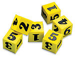 Easyshapes Foam Dice - Numbers