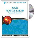 Our Planet Earth - Teacher's Guide (with CD) - God's Design for Heaven & Earth S