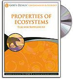 Properties of Ecosystems - Teacher's Guide (with CD) - God's Design for Chemistr