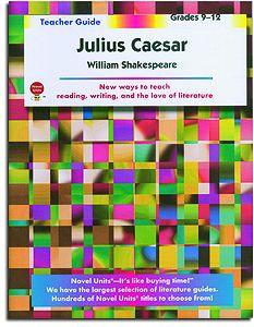 Julius Caesar Novel Units Teacher Guide