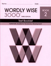 Wordly Wise 3000 Test Booklet - Book 2