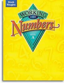 Working with Numbers - Level A - Student Workbook